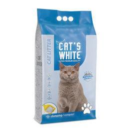 חול לחתולים מתגבש קטס וויט 15 קג