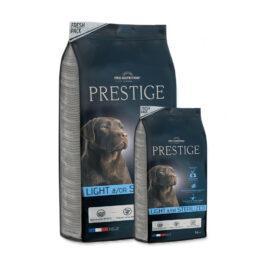 """אוכל לכלבים פרסטיז לייט 15+3 ק""""ג"""