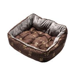 מיטת רוגז אופנתית בצבע חום