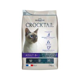 """קרוקטל סטרלייזד לחתול מבוגר (8+) חדש 10 ק""""ג"""