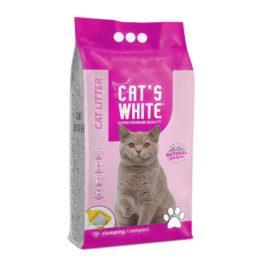 חול לחתולים מתגבש קטס וויט 10 קג