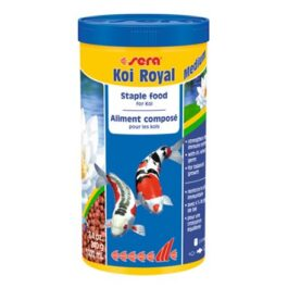 מזון לדגי זהב ודגי בריכה