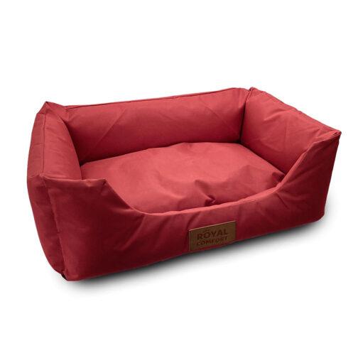 מיטה לכלב קטן רויאל בצבע בורדו