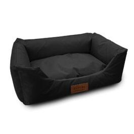מיטה לכלב קטן רויאל בצבע שחור