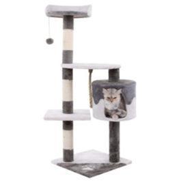 מתקן חתולים לגירוד. עמוד גירוד לחתול