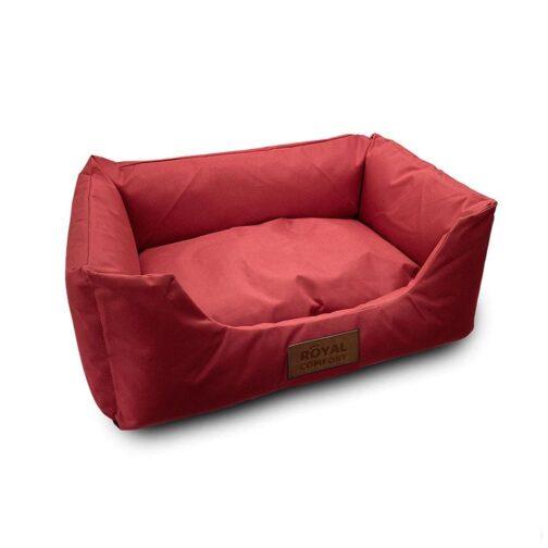 מיטה קטנה לכלב רויאל צבע אדום