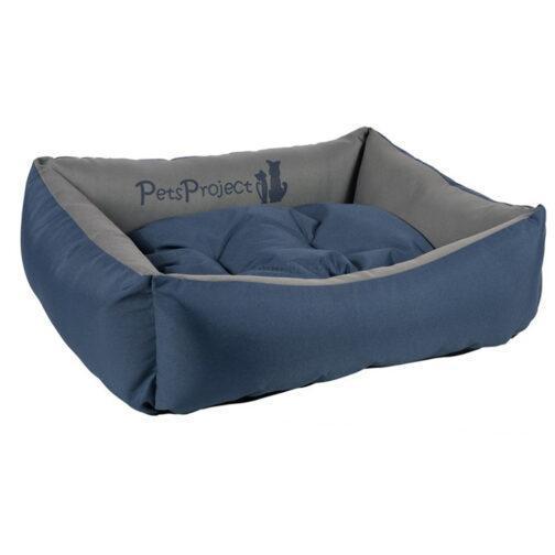 מיטת פטס פרוג'קט נגד מים צבע כחול נייבי