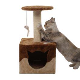 מתקן גירוד לחתול LZ0153 חום