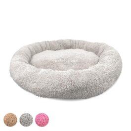 מיטה-לכלבים-עגולה-פרוותית-50-סמ