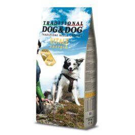 אוכל לכלבים דוג אנד דוג בטעם עוף