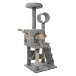 מתקן גירוד RN0145 מפורק לחתול אפור